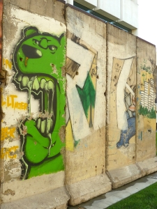 Museum Row - Berlin Wall
